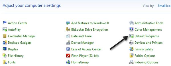 Cambiar el Navegador Web por Defecto en Windows 8