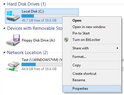 Comprobación de Disco y Sistema de Archivos en Windows 8/10