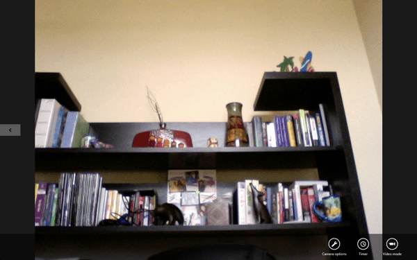 webcam windows 8