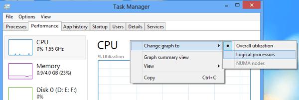 Cpu logical processors