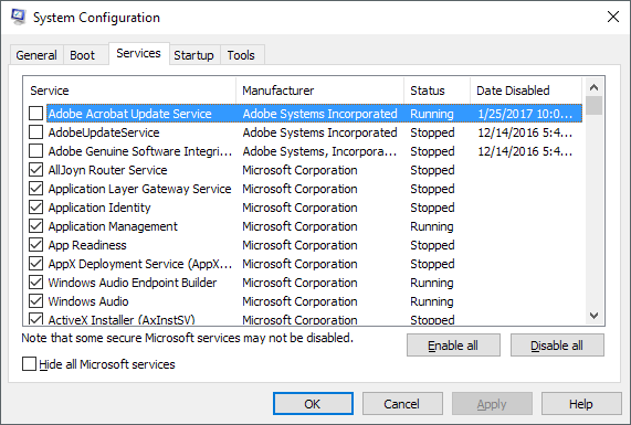 Should You Ever Disable a Windows Service?