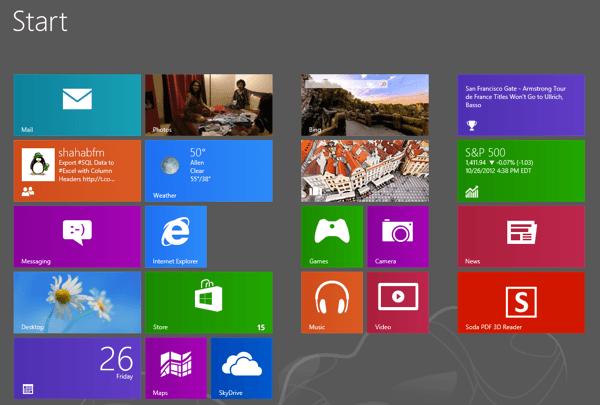 5 Tareas Que Debería Haber Sido más Sencillo en Windows 8