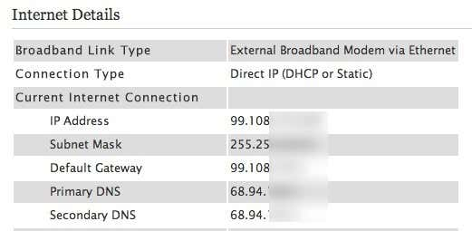 Broadband ip