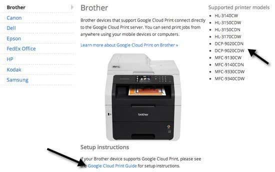 Cloud ready printers