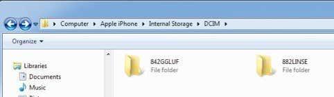 Iphone internal storage