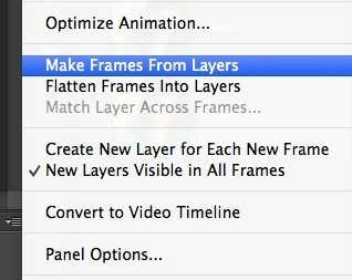 make frames layers