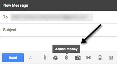 attach money gmail
