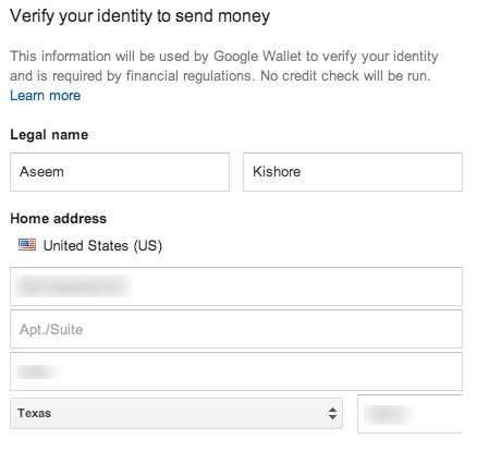 confirm identity wallet