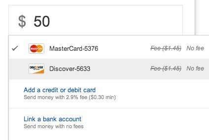 google wallet no fee