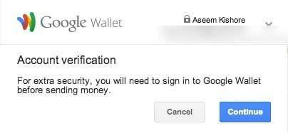 google wallet verification