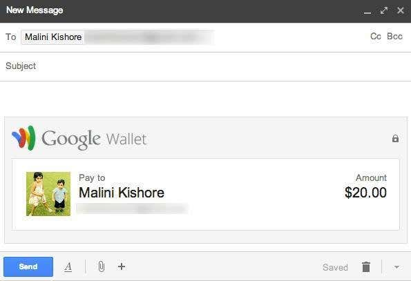 send money wallet