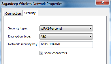 windows 7 wifi key