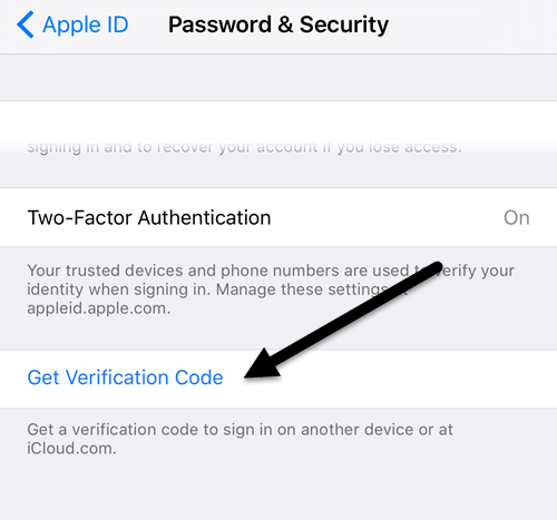 Verification is code id apple your