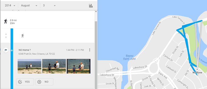 How to View Google Maps Location History
