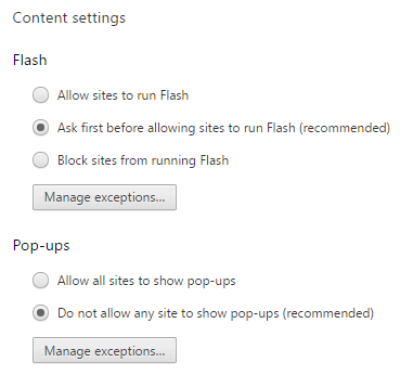 How to Enable Flash in Chrome for Specific Websites