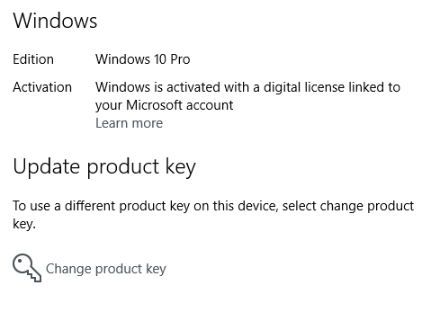 get windows 10 digital license key