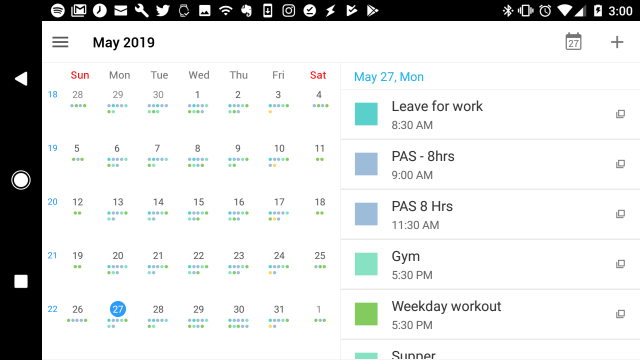 Tiny Calendar.10 Best Free Calendar Apps For Android