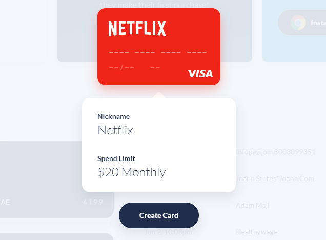 Virtual Credit Card Usa