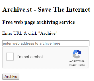 The 3 Best Sites To Use For Archiving Webpages