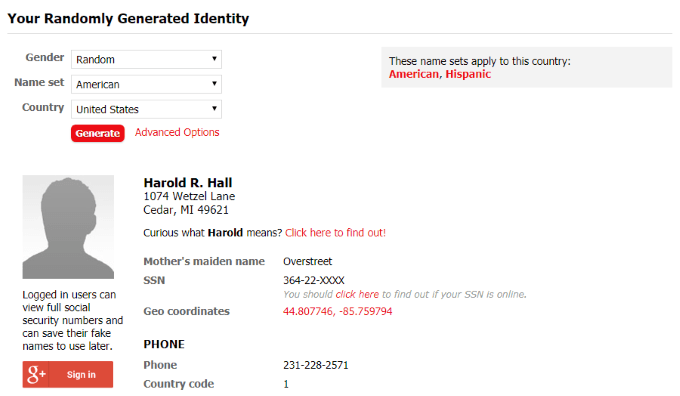 3 Best Websites To Help You Create a Fake Identity
