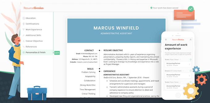 the 6 best online resume builder services