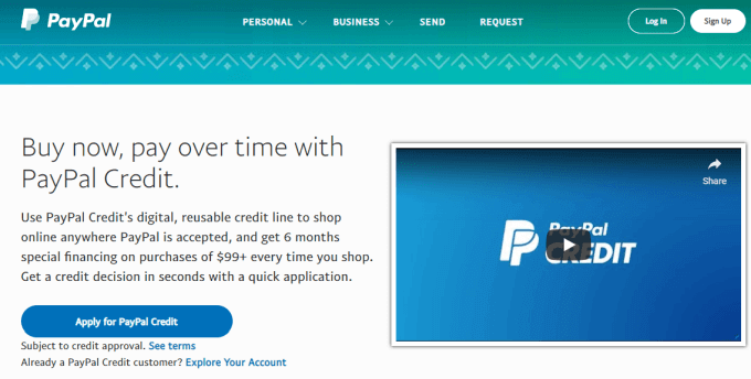 Stores That Accept Paypal Credit Online >> Is A Paypal Credit Account Right For You