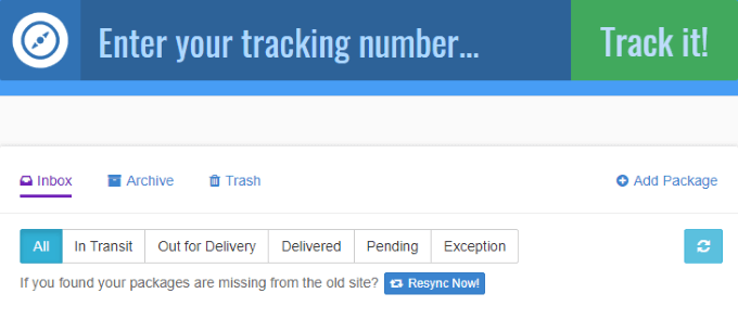 Add Tracking To Your Order**UNITED STATES ONLY**