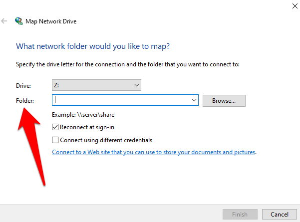How to Map a Network Drive in Windows