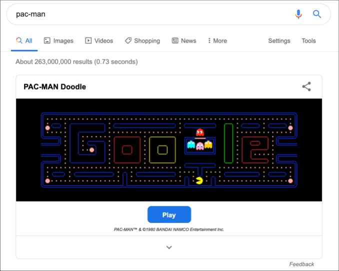 Pacman Google Kostenlos