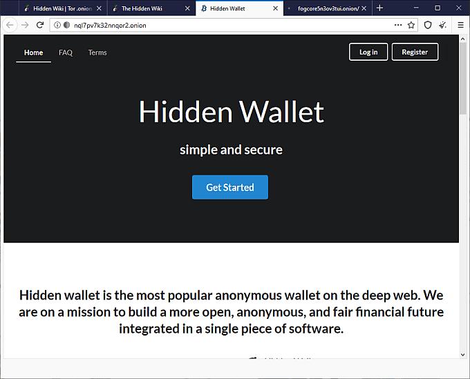 deep web bitcoin wallet