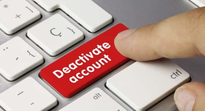 Free Download Cách hủy kích hoạt tài khoản Facebook thay vì xóa tài khoản