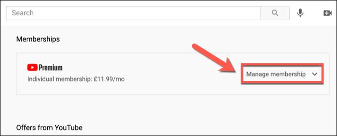 Membership youtube cancel How to